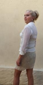 Perfil falda pailletes